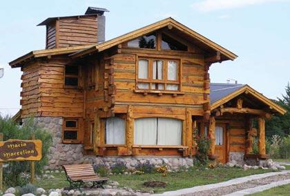 Los pinos factory - Cabanas de madera los pinos ...