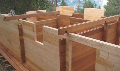Construcci n - Construcciones de casas de madera ...